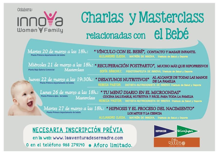 Semana del bebé en El Corte Inglés del tiro (Murcia) desde Innova Woman and Family