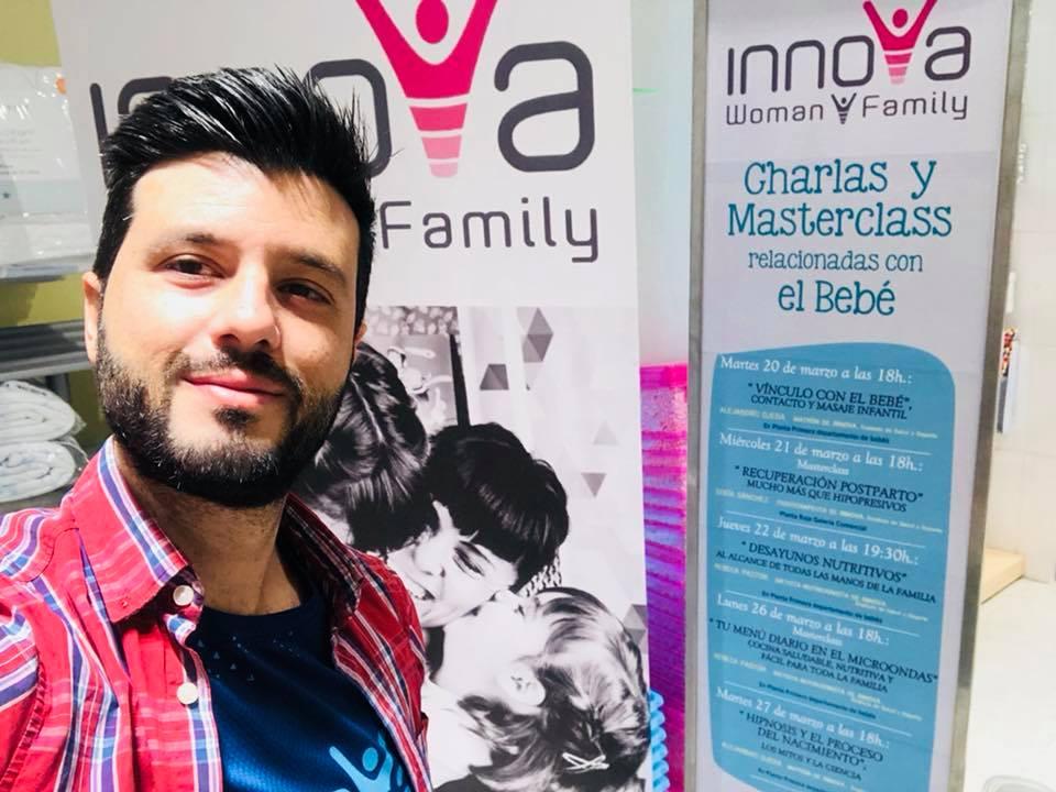 Presentación del Método NACER SABIAMENTE en El Corte Inglés de Murcia desde Innova Woman and Family